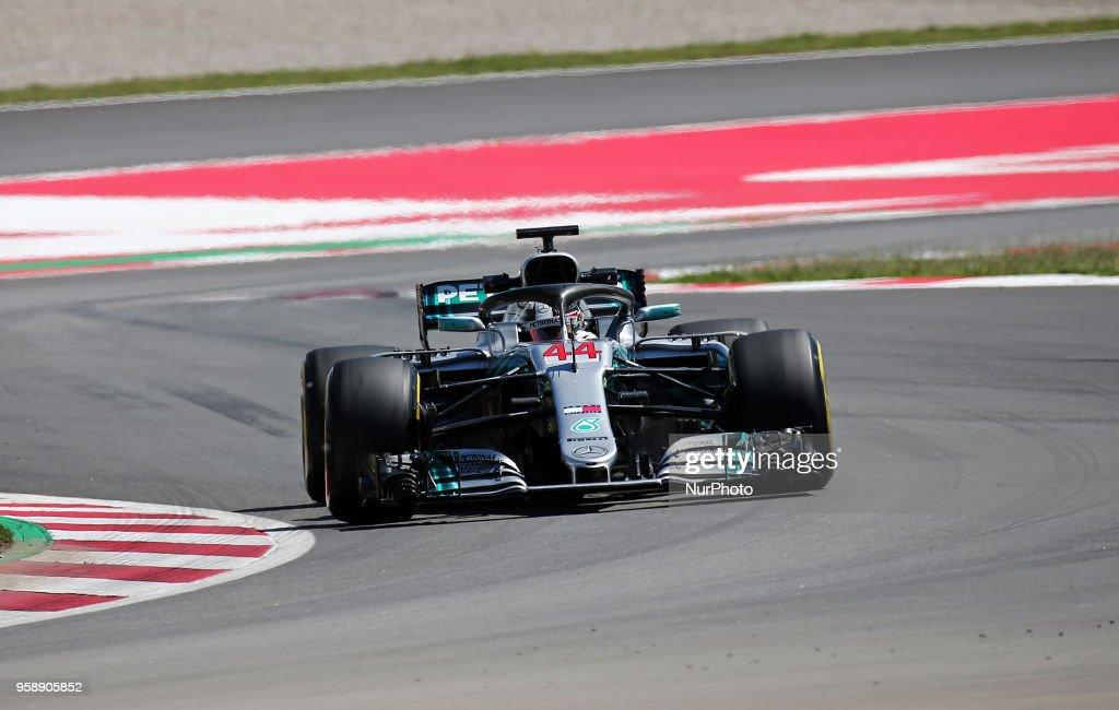 F1 Testing In Barcelona : News Photo