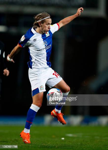 Lewis Holtby of Blackburn Rovers in action during the Sky Bet Championship match between Blackburn Rovers and Reading at Ewood Park on October 27...