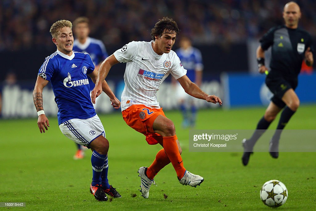 FC Schalke 04 v Montpellier Herault SC - UEFA Champions League : News Photo