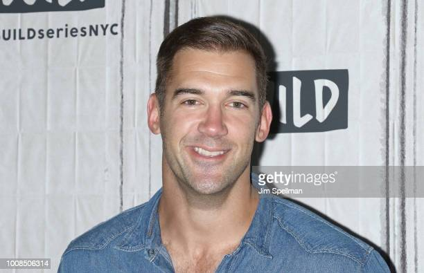 Lewis Howes attends the Build Series to discuss Inspiring Life with Lewis Howes at Build Studio on July 31 2018 in New York City