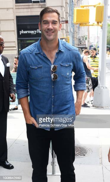 Lewis Howes is seen on July 31 2018 in New York City