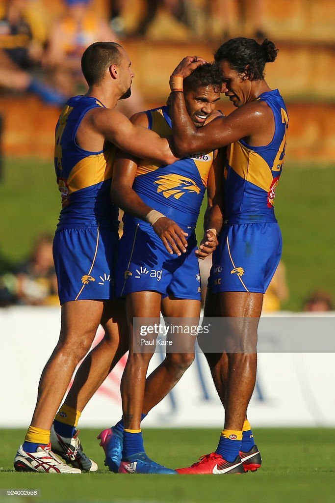West Coast v Port Adelaide - JLT Community Series