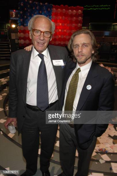 Lewis Lapham and John Kirby director during 4th Annual Tribeca Film Festival The American Ruling Class Premiere After Party at The New York...