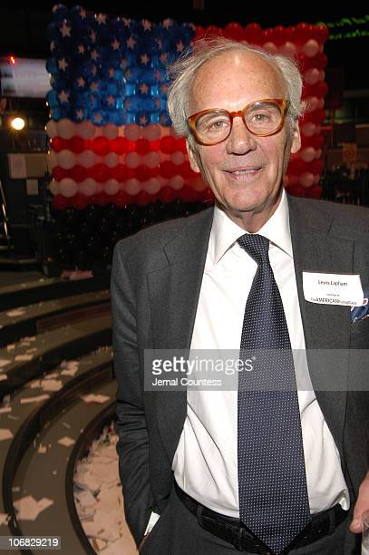 Lewis Lapham during 4th Annual Tribeca Film Festival The American Ruling Class Premiere After Party at The New York Mercantile Exchange in New York...
