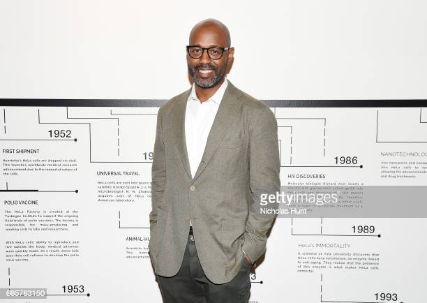 Lewis Long attends HBO's The HeLa Project Exhibit For The Immortal Life of Henrietta Lacks on April 6 2017 in New York City
