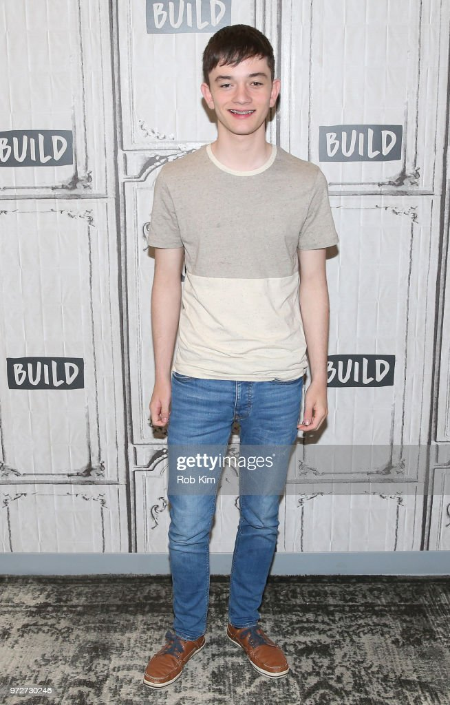 Lewis MacDougall attends the Build Series at Build Studio on June 12, 2018 in New York City.