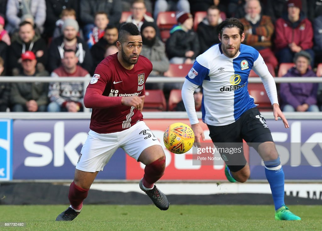 Northampton Town v Blackburn Rovers - Sky Bet League One