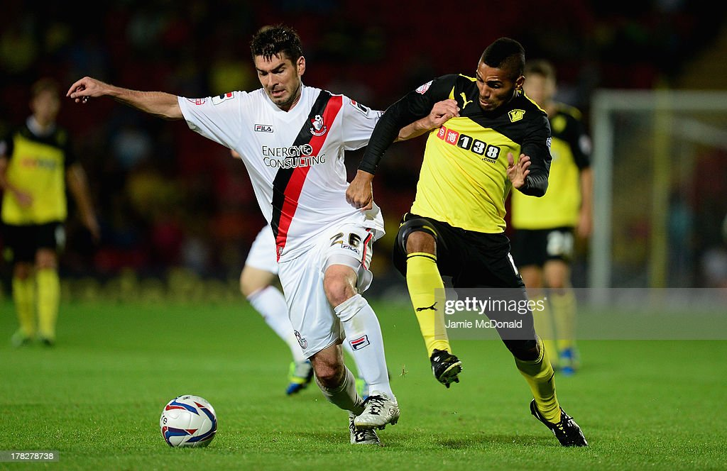 Watford v AFC Bournemouth - Capital One Cup Second Round : News Photo