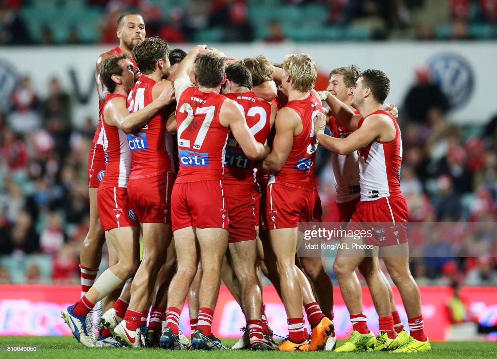 AFL Rd 16 - Sydney v Gold Coast : News Photo