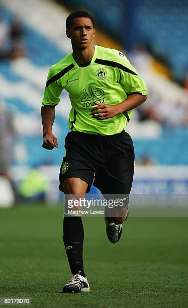 Lewis Montrose of Wigan Athletic in action during the Pre Season Friendly match between Sheffield Wednesday and Wigan Athletic at Hillsborough on...
