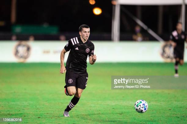 Lewis Morgan of Inter Miami CF during a game between Inter Miami CF and Philadelphia Union at Wide World of Sports on July 14, 2020 in Lake Buena...
