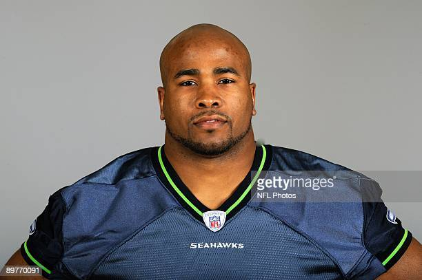 D Lewis of the Seattle Seahawks poses for his 2009 NFL headshot at photo day in Seattle Washington