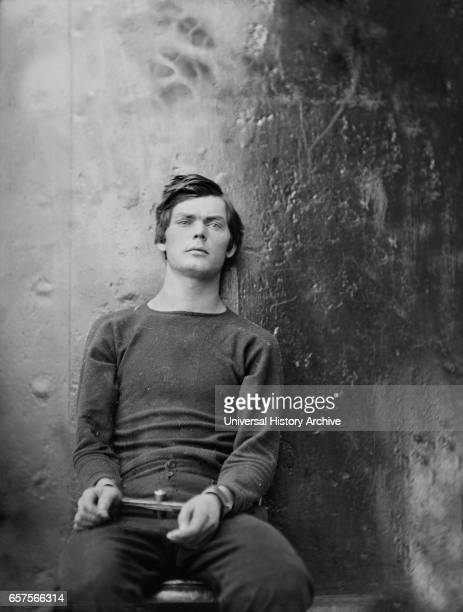 Lewis Powell also known as Lewis Payne Attacker of US Secretary of State William H Seward and Conspirator in Assassination of US President Abraham...