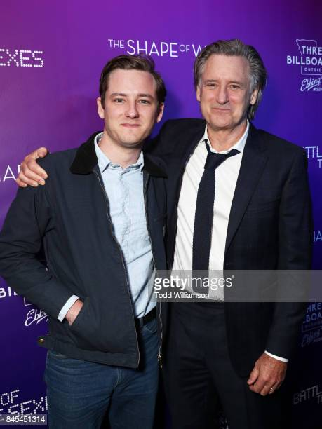 Lewis Pullman and Bill Pullman attend Fox Searchlight's Toronto Film Festival Party on September 10 2017 in Toronto Canada