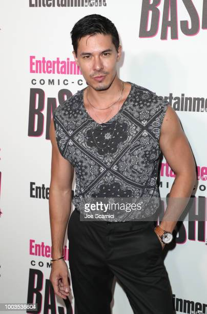 Lewis Tan attends Entertainment Weekly's ComicCon Bash held at FLOAT Hard Rock Hotel San Diego on July 21 2018 in San Diego California sponsored by...