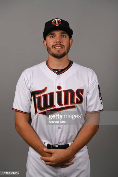 Lewis Thorpe of the Minnesota Twins poses during Photo Day on Wednesday February 21 2018 at CenturyLink Sports Complex in Fort Myers Florida