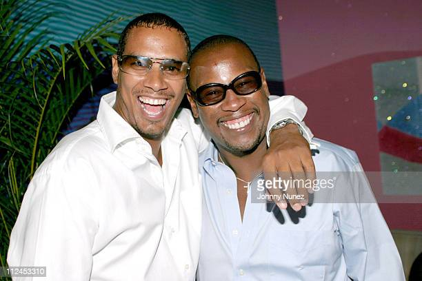 Lewis Tucker of Bad Boy and Andre Harrell of Nu America Agency