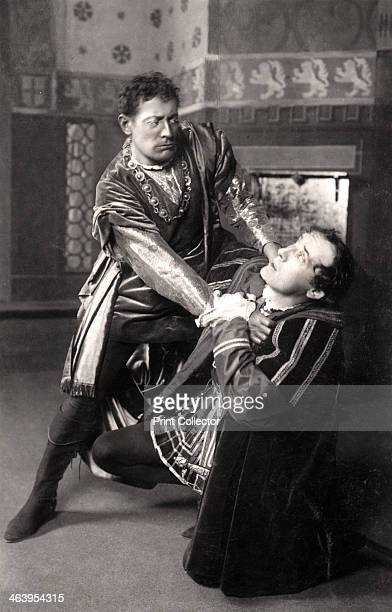Lewis Waller and Harry Brodribb Irving , English actors, 1906. Waller and Irving are playing the parts of 'Othello' and 'Iago' respectively.