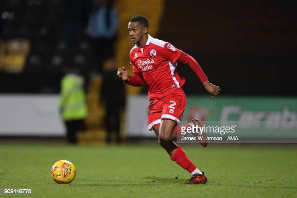 Lewis Young of Crawley Town during the Sky Bet League Two match between Notts County and Crawley Town at Meadow Lane on January 23 2018 in Nottingham...