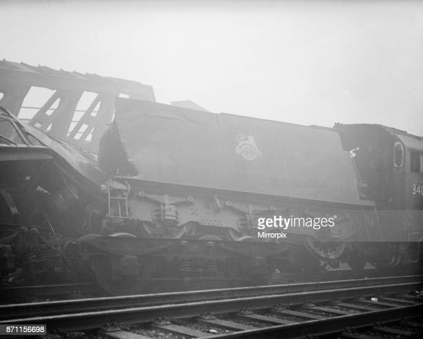 Lewisham Train Crash on the evening of 4 December 1957 a dense blanket of fog covered London and trains were running late our Picture Shows The...