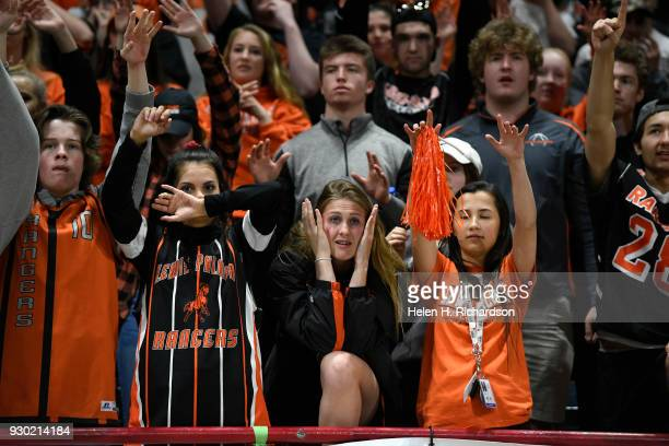 LewisPalmer high school students are on the edge of their seats at their team the LewisPalmer Rangers made a comeback in the second half of the 4A...