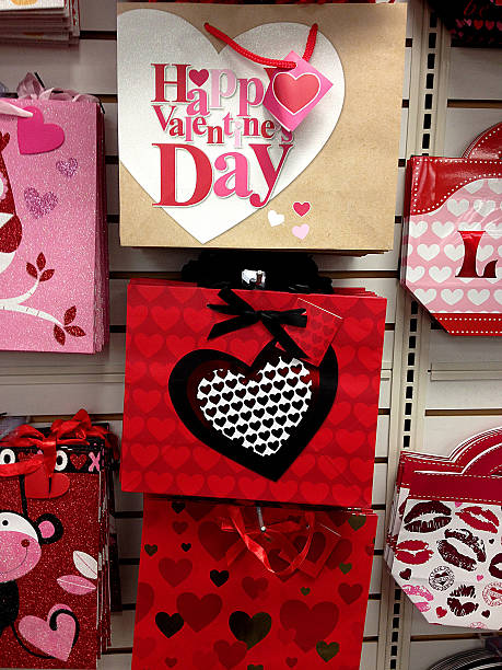 Valentine Day Gift Bag Lewiston Idaho Usa Pictures Getty Images