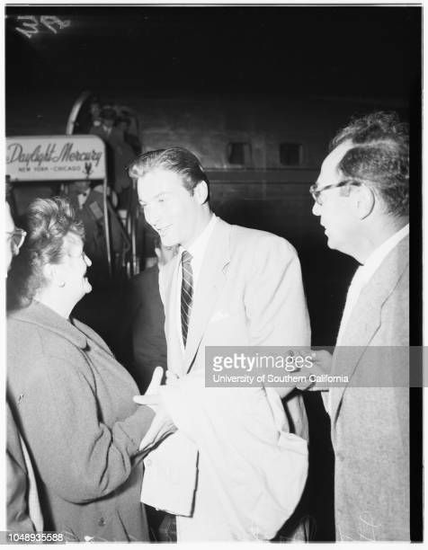 Lex Barker April 15 1951 Arlene DahlMore descriptive information with originals