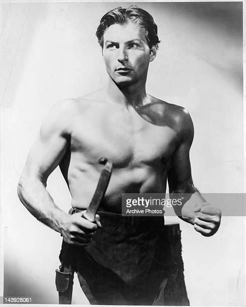 Lex Barker in Tarzan publicity portrait Circa 1950s