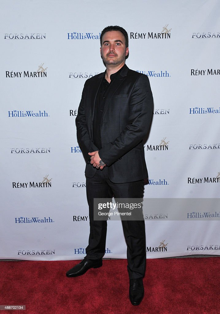 Lex Cassar attends 'Forsaken' TIFF party hosted by Remy Martin and Holliswealth during the 2015 Toronto International Film Festival at Weslodge on September 16, 2015 in Toronto, Canada.