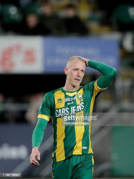 Lex Immers of ADO Den Haag during the Dutch Eredivisie match between ADO Den Haag v FC Groningen at the Cars Jeans Stadium on December 14 2019 in Den...
