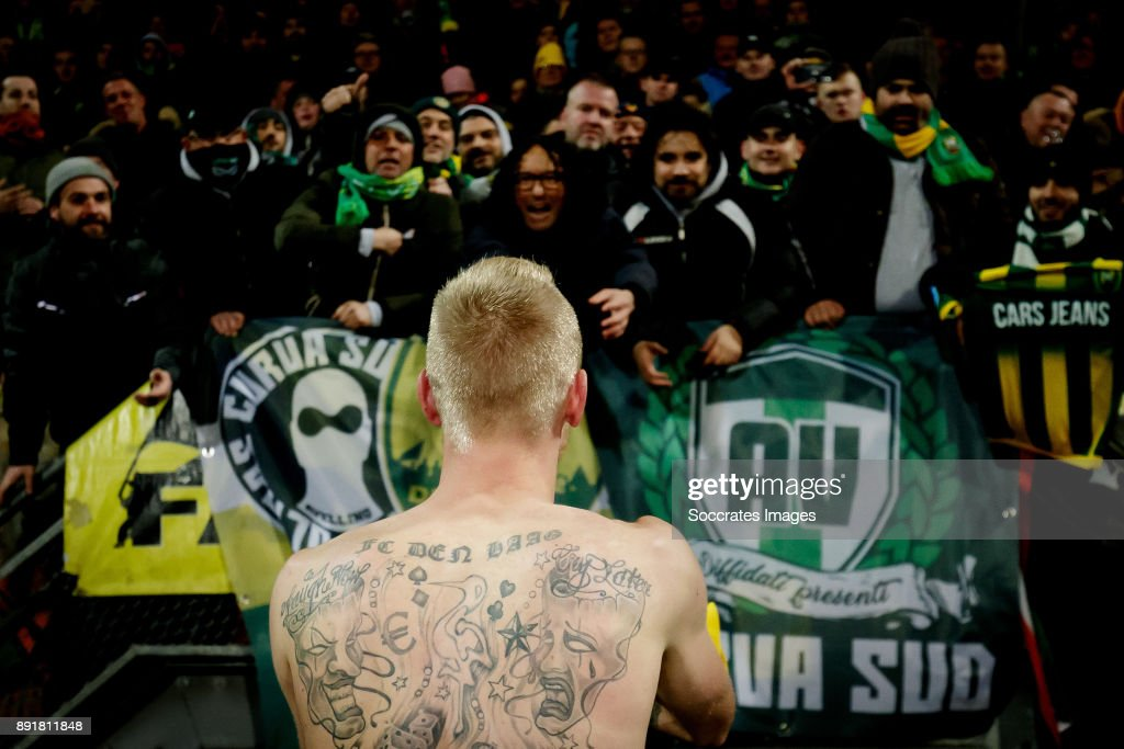Lex Immers Of Ado Den Haag Fc Den Haag Tattoo During The