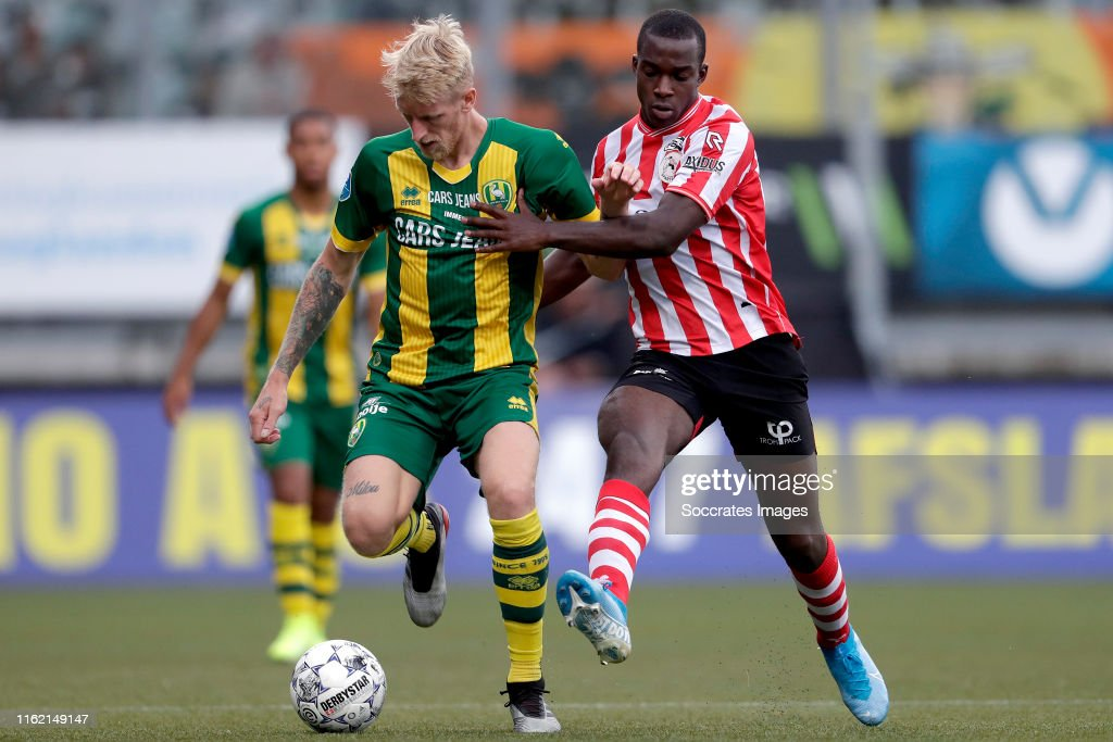 Lex Immers Of Ado Den Haag Lassana Faye Of Sparta Rotterdam During News Photo Getty Images