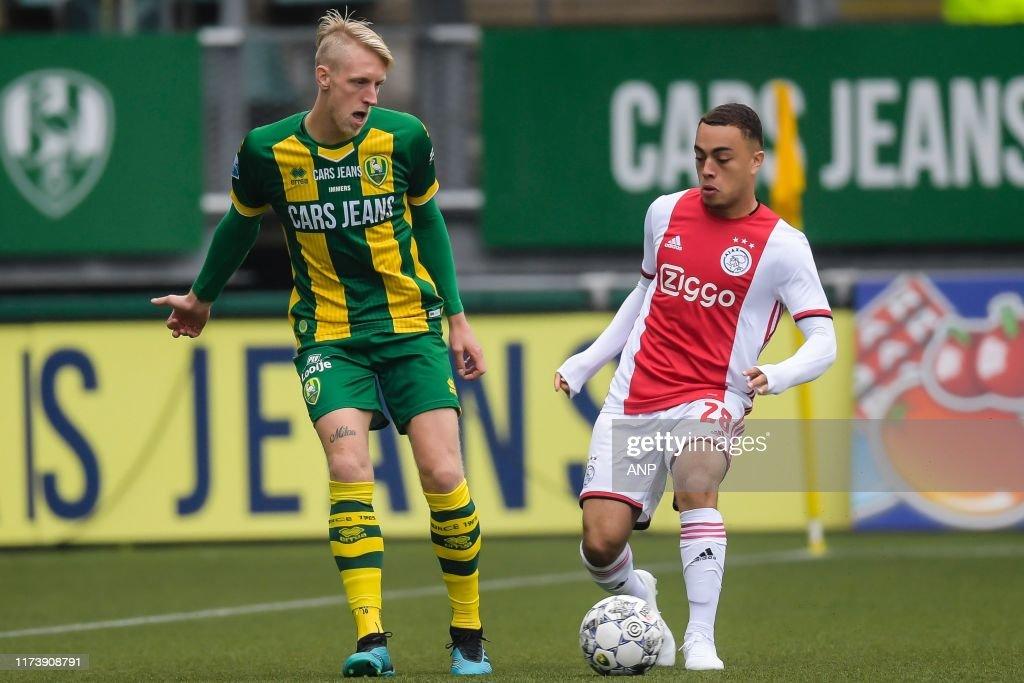 "Dutch Eredivisie""ADO Den Haag v Ajax Amsterdam"" : News Photo"