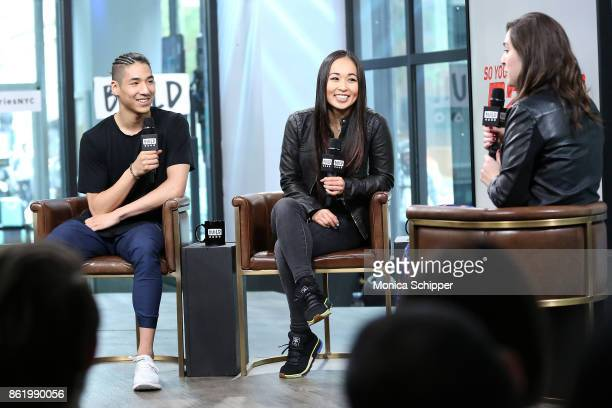 Lex Ishimoto and Koine Iwasaki discuss So You Think You Can Dance at Build Studio on October 16 2017 in New York City