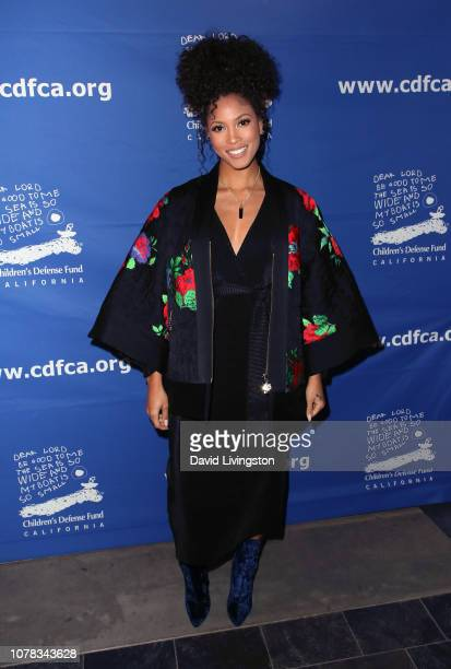 Lex Scott Davis attends the Children's Defense Fund California's 28th Annual Beat The Odds Awards at the Skirball Cultural Center on December 06 2018...