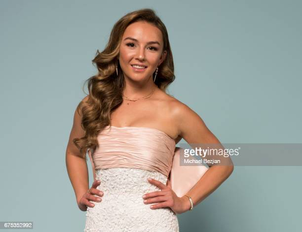 Lexi Ainsworth poses forat The 44th Daytime Emmy Awards Portraits by The Artists Project Sponsored by Foster Grant on April 30 2017 in Los Angeles...