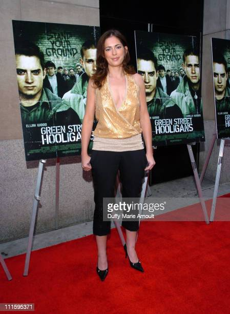 Lexi Alexander director during Green Street Hooligans New York Premiere at Union Square Stadium 14 in New York City New York United States