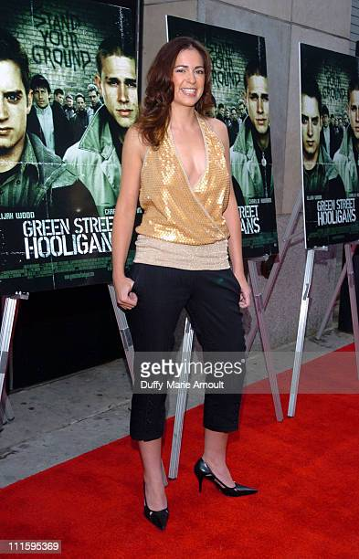 Lexi Alexander during Green Street Hooligans New York Premiere at Union Square Stadium 14 in New York City New York United States