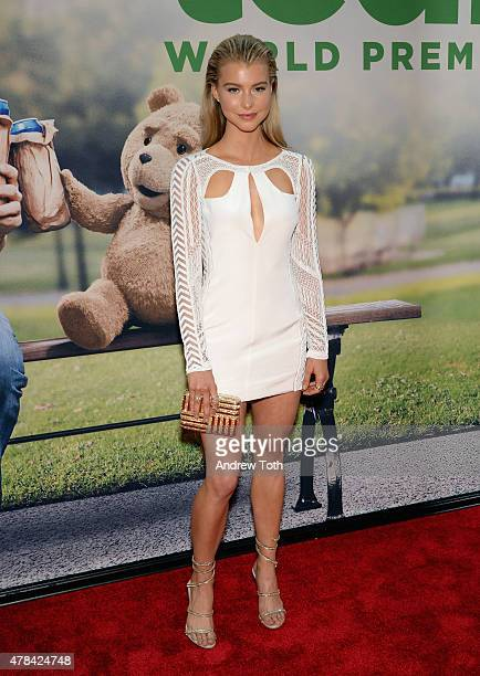 Lexi Atkins attends the 'Ted 2' New York premiere at Ziegfeld Theater on June 24 2015 in New York City