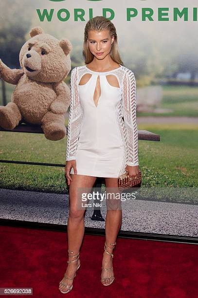 Lexi Atkins attends the 'Ted 2' premiere at the Ziegfeld Theater in New York City �� LAN