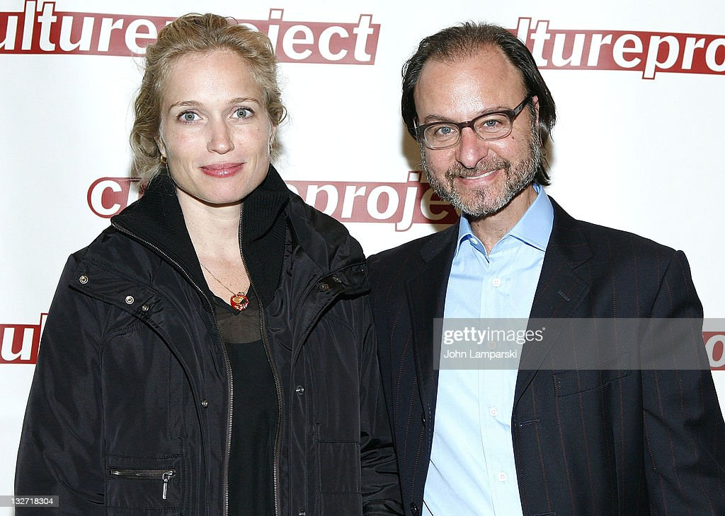 Lexi Bloom And Fisher Stevens Attend The  Culture Project Producers Weekend Dinner At Guastavinos On