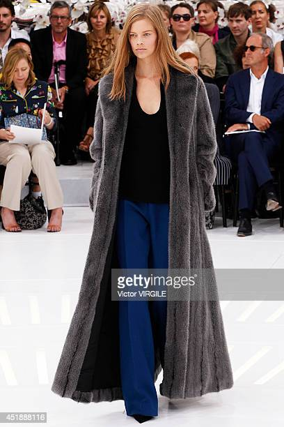 Lexi Boling walks the runway during the Christian Dior show as part of Paris Fashion Week Haute Couture Fall/Winter 20142015 at Muse Rodin on July 7...