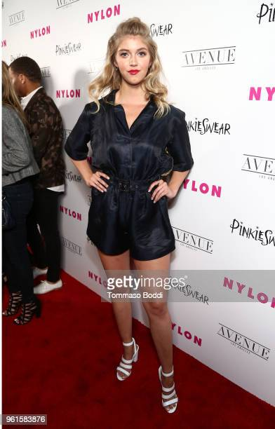 Lexi DiBenedetto attends NYLON's Annual Young Hollywood Party sponsored by Pinkie Swear at Avenue Los Angeles on May 22 2018 in Hollywood California