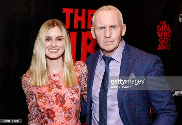 Lexi Johnson and Michael Morrissey attends The Girl Who Got Away Film Premiere at AMC Theater on August 19, 2021 in New York City.