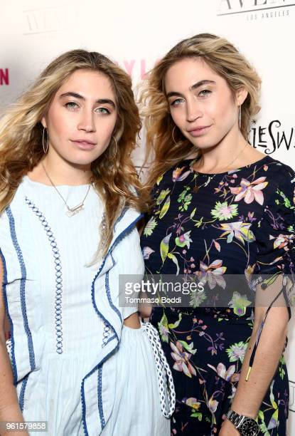 Lexi Kaplan and Allie Kaplan attend NYLON's Annual Young Hollywood Party sponsored by Pinkie Swear at Avenue Los Angeles on May 22 2018 in Hollywood...
