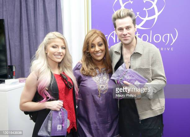 Lexi Kaufman and Ryan Cabrera attend the GRAMMY Gift Lounge during the 62nd Annual GRAMMY Awards at STAPLES Center on January 23, 2020 in Los...