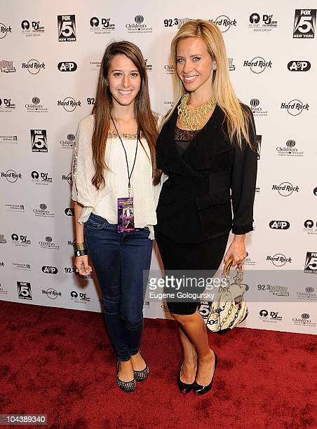 Lexi Manzo and Dina Manzo attend Island Def Jam Rocks Times Square for Children's Miracle Network hospitals event at the Hard Rock Cafe Times Square...