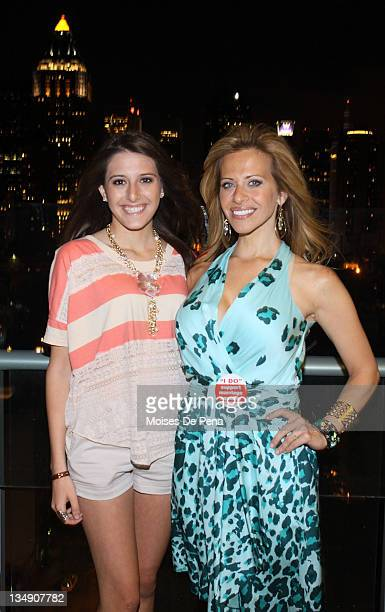 Lexi Manzo and mother Dina Manzo attend the after party for the benefit performance of My Big Gay Italian Wedding at Press Lounge at Ink48 on June 24...
