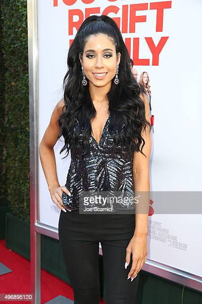 Lexi Noel attends the Love The Coopers Holiday Luncheon Benefiting The LA Regional Food Bank at The Grove on November 12 2015 in Los Angeles...