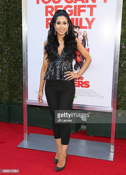Lexi Noel attends the premiere of CBS Films 'Love The Coopers' at the Park Plaza on November 12 2015 in Los Angeles California